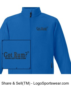 Mens Journey Fleece Jacket Design Zoom